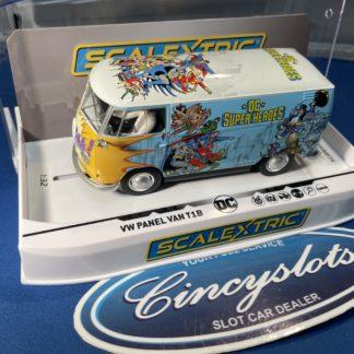 Scalextric C3933 VW Panel Van Bus DC Comics.