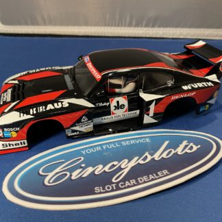 Carrera D124 23870 Ford Capri Turbo Zakspeed 1/24 Slot Car. BODY ONLY!!!