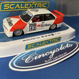 Scalextric C4168 BMW E30 DTM Marlboro.