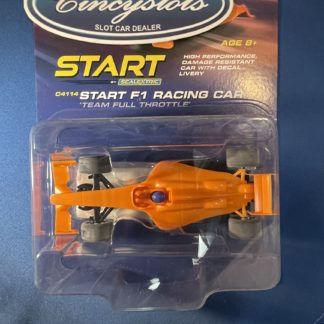Scalextric C4114 START F1 Team Full Throttle Orange.
