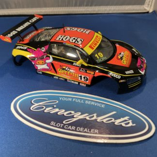 Carrera D124 23861 Audi R8 LMS Griffith HOGS Slot Car BODY ONLY.