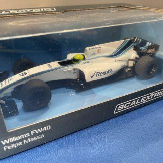 Scalextric C3955 Williams FW40 Felipe Massa DPR 1/32 Formula 1 F1 Slot Car.