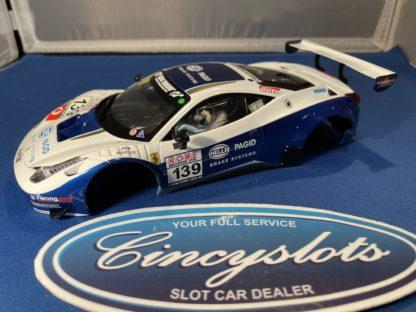 NEW Carrera 1/24 Carrera D124 23906 Ferrari 458 BODY and INTERIOR ONLY Slot Car.