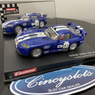 Carrera Evolution 25408 Dodge Viper 1/32 Slot Car, Lightly Used.