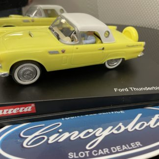 Carrera Evolution 25443 Ford Thunderbird 1/32 Slot Car, Lightly Used.