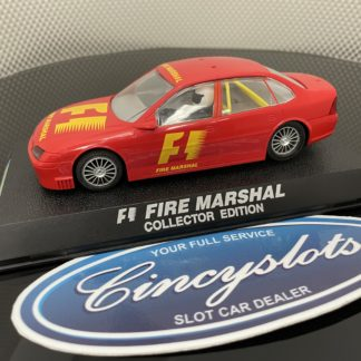 Scalextric C2198 UK Vauxhall Vectra F1 Fire Marshall Collector Edition