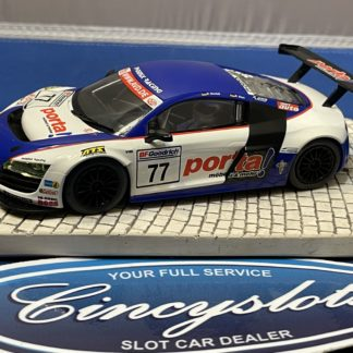 Scalextric Audi R8 1/32 Slot Car Used Porta.