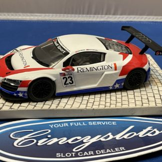 Scalextric Audi R8 1/32 Slot Car Used Remington .