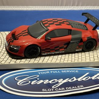 Scalextric Audi R8 1/32 Slot Car Used Red Driving Experience.