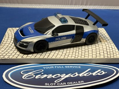 Scalextric Audi R8 1/32 Slot Car Used Polizei.