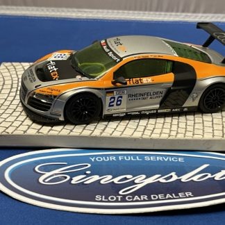 Scalextric Audi R8 1/32 Slot Car Used FlatEX.