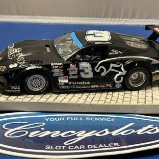 Scalextric Jaguar XKRS Slot Car Black Used