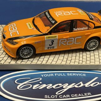 Scalextric BMW 320 1/32 Slot Car Used.