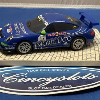 Scalextric Porsche GT3 1/32 Slot Car Morellato Used