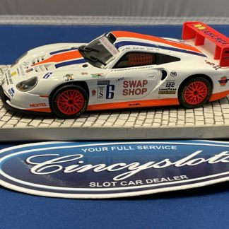 Fly Porsche 911 Swap Shop 1/32 Slot Car Used.