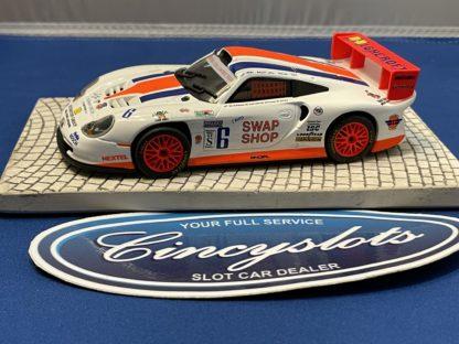 Fly Porsche 911 Swap Shop 1/32 Slot Car Used.