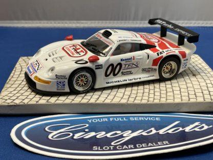 Fly Porsche 911 Fat Turbo 1/32 Slot Car Used.