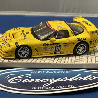 Fly Corvette C5R 1/32 Slot Car Used.