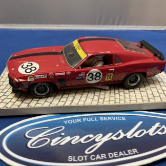 Scalextric Ford Mustang #38 1/32 Slot Car. Used