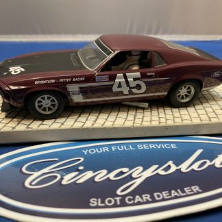 Scalextric Ford Mustang #45 1/32 Slot Car. Used