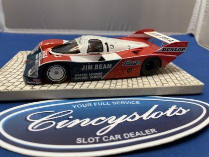 Slot.it Porsche 956 Jim Beam 1/32 Slot Car. Used, no box.