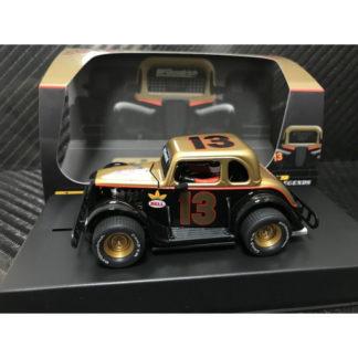 Pioneer P083 Ford Legend Smokey's #13 1/32 Slot Car.