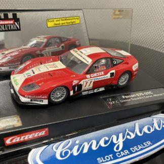 Carrera 25753 Ferrari 575 Giesse 1/32 Slot Car.