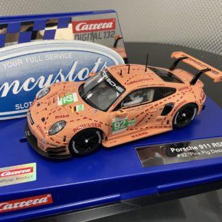 Carrera D132 30964 Porsche 911 RSR Pink Pig 1/32 Slot Car.