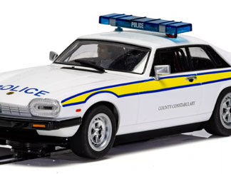 Scalextric C4224 Jaguar XJS Police Edition 1/32 Slot Car.