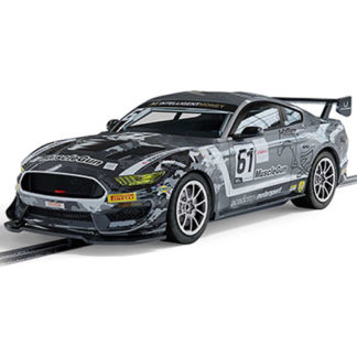 Scalextric C4221 Ford Mustang GT4 Academy Motorsport 1/32 Slot Car.