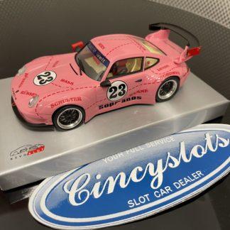 RevoSlot RS0110 Porsche GT3 Pink Pig 1/32 Slot Car.