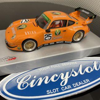 RevoSlot RS0109 Porsche GT3 Jägermeister 1/32 Slot Car.